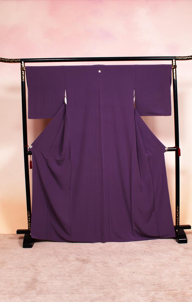 701 色無地(紫)