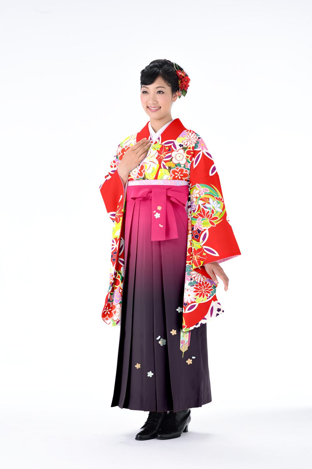 レトロ-七宝花丸-赤