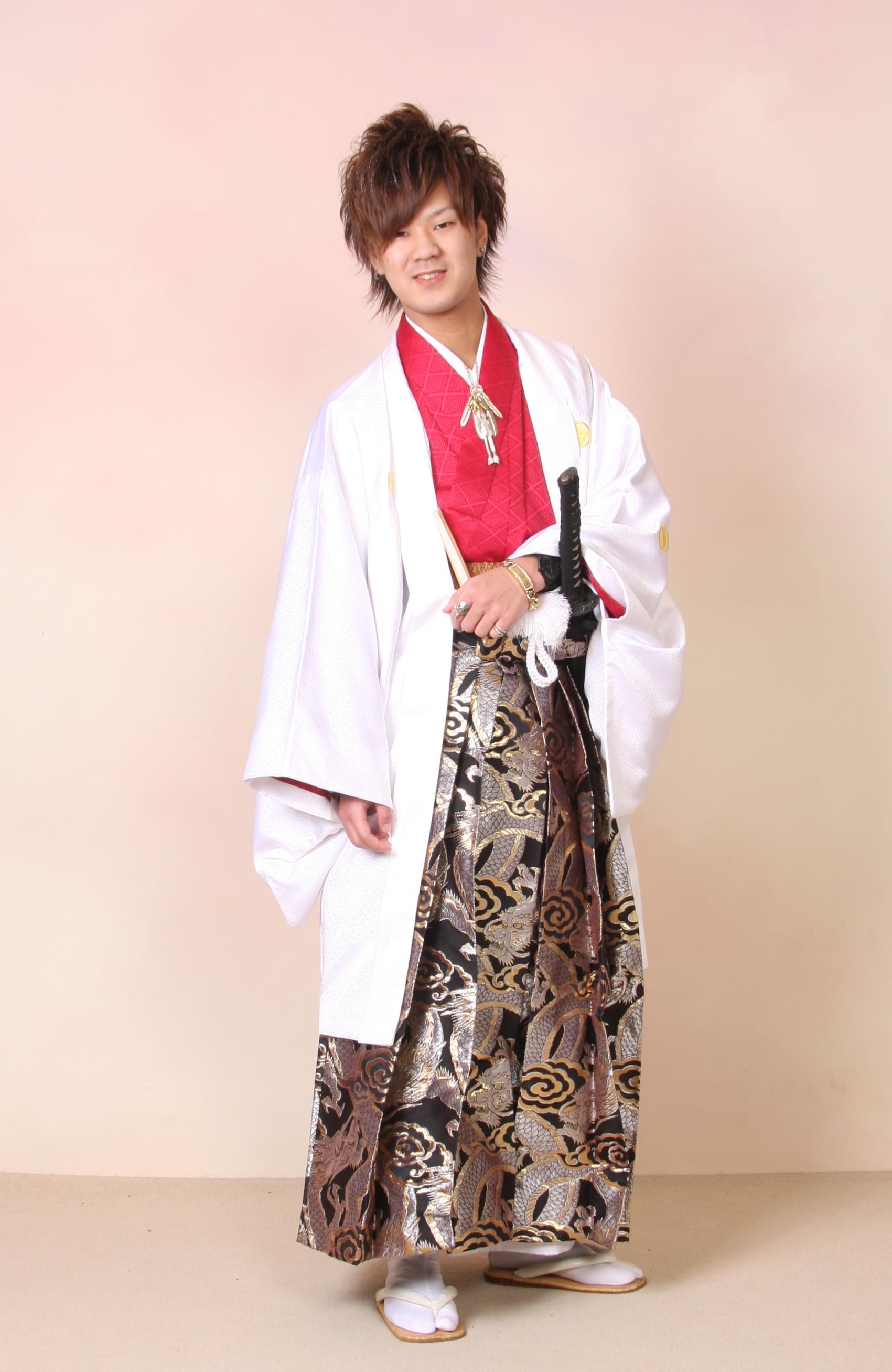 MIX(羽織と長着の色を自由にチョイス!)