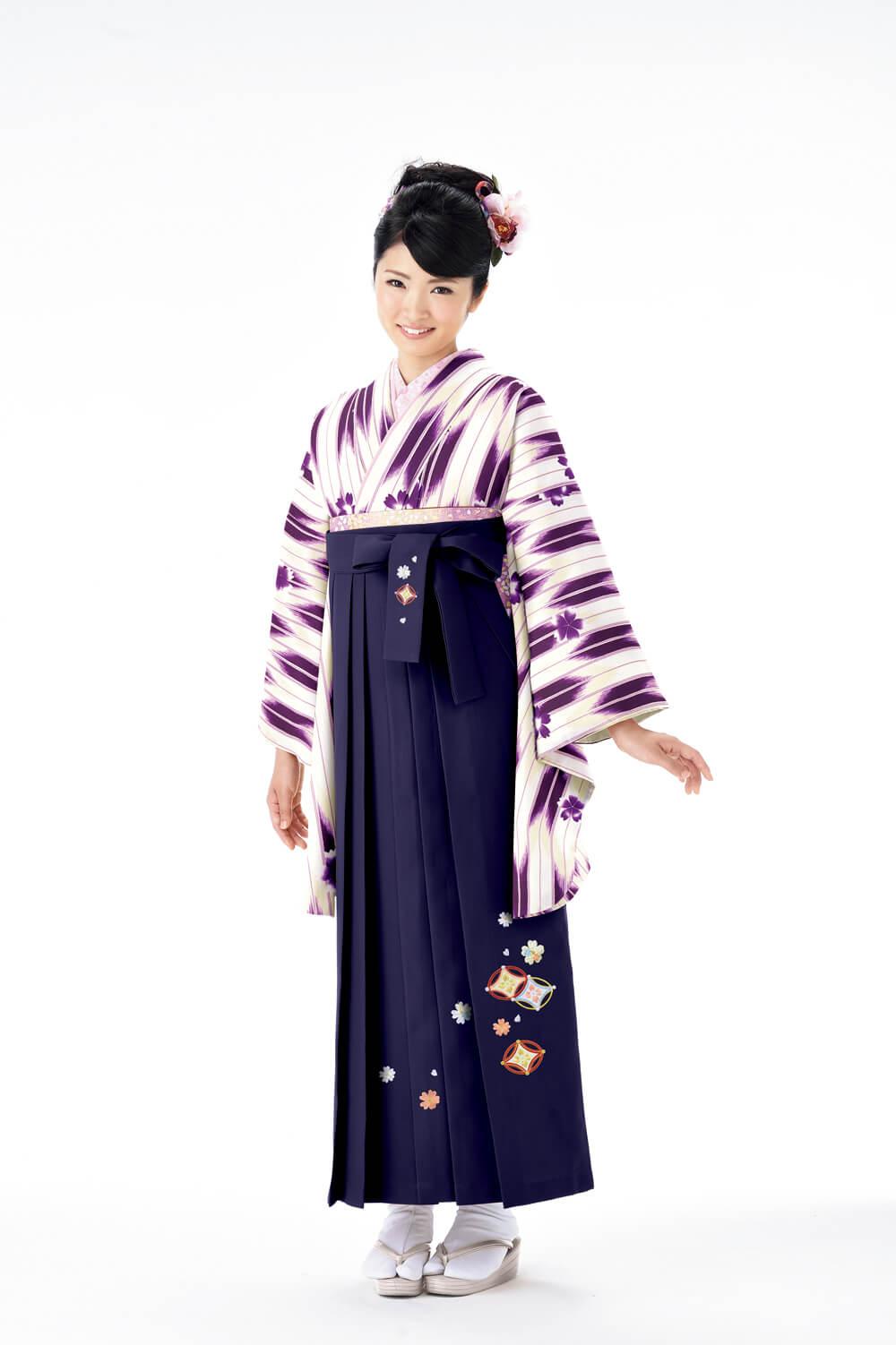 矢絣桜2紫