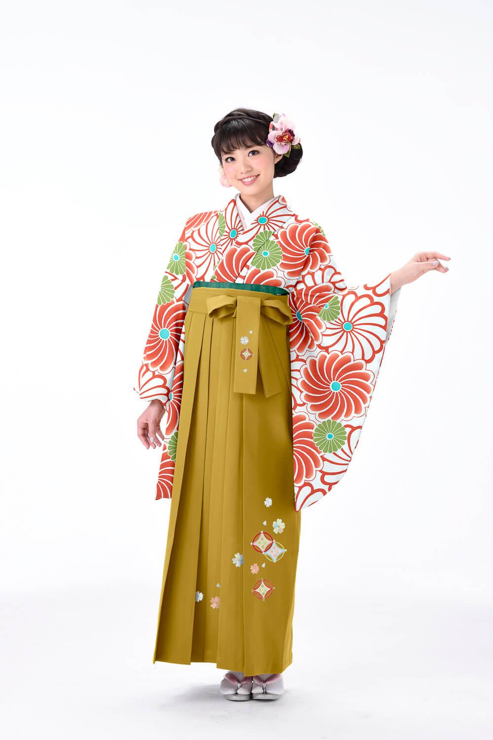 ねじり菊3オレンジ